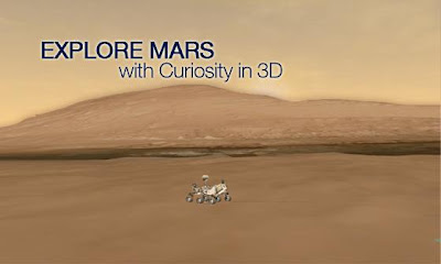 The U.S. space agency has an app in Windows 8 and RT which allows to discover the Curiosity probe that explores in March last year