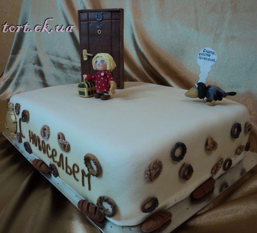 Трехслойный желейный торт фото 9
