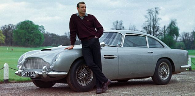 For The L964 Film Goldfinger, Production Designer Ken Adam Designed The  Gadget Laden, Hand Built And Customized DB5 As The Ultimate Dream Adventure  Car ...