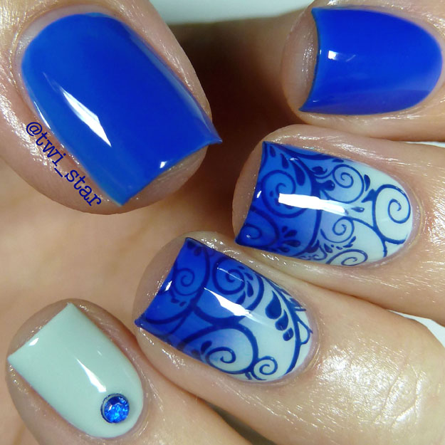Azature Lapis Diamond swatch