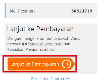 gambar cara pembayaran traveloka