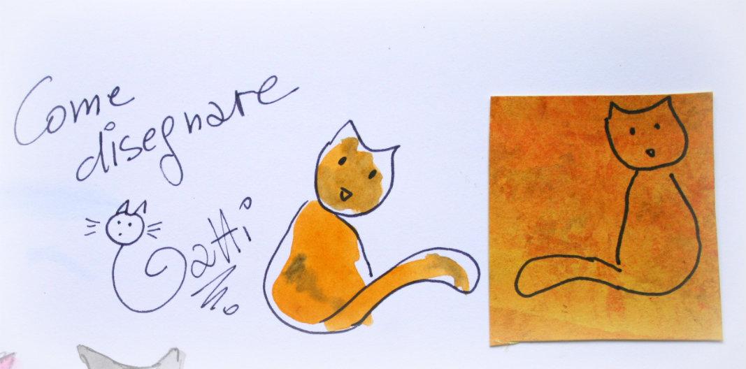 A casa di eli per l 39 ora del t come disegnare gatti for Disegnare i propri piani di casa