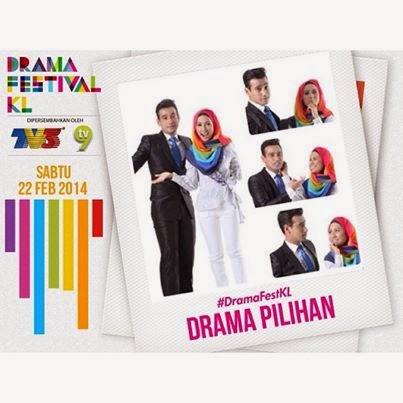 Lyma(Love You Mr Arrogant) menang Anugerah Drama Festival