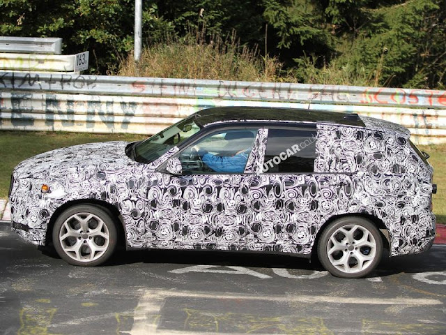 BMW X3 test photo