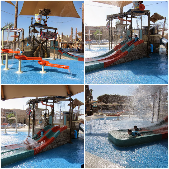 Children's play area at Yas Waterworld