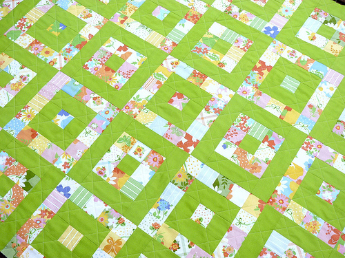 Red Pepper Quilts: Just ONE Layer Cake ~ A Quilt Pattern : lime green quilts - Adamdwight.com
