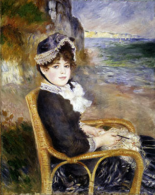 "Picture of ""By the Seashore"" by Renoir, 1883"