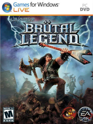 Capa Brütal Legend PC Full brutal legend+pc+cover