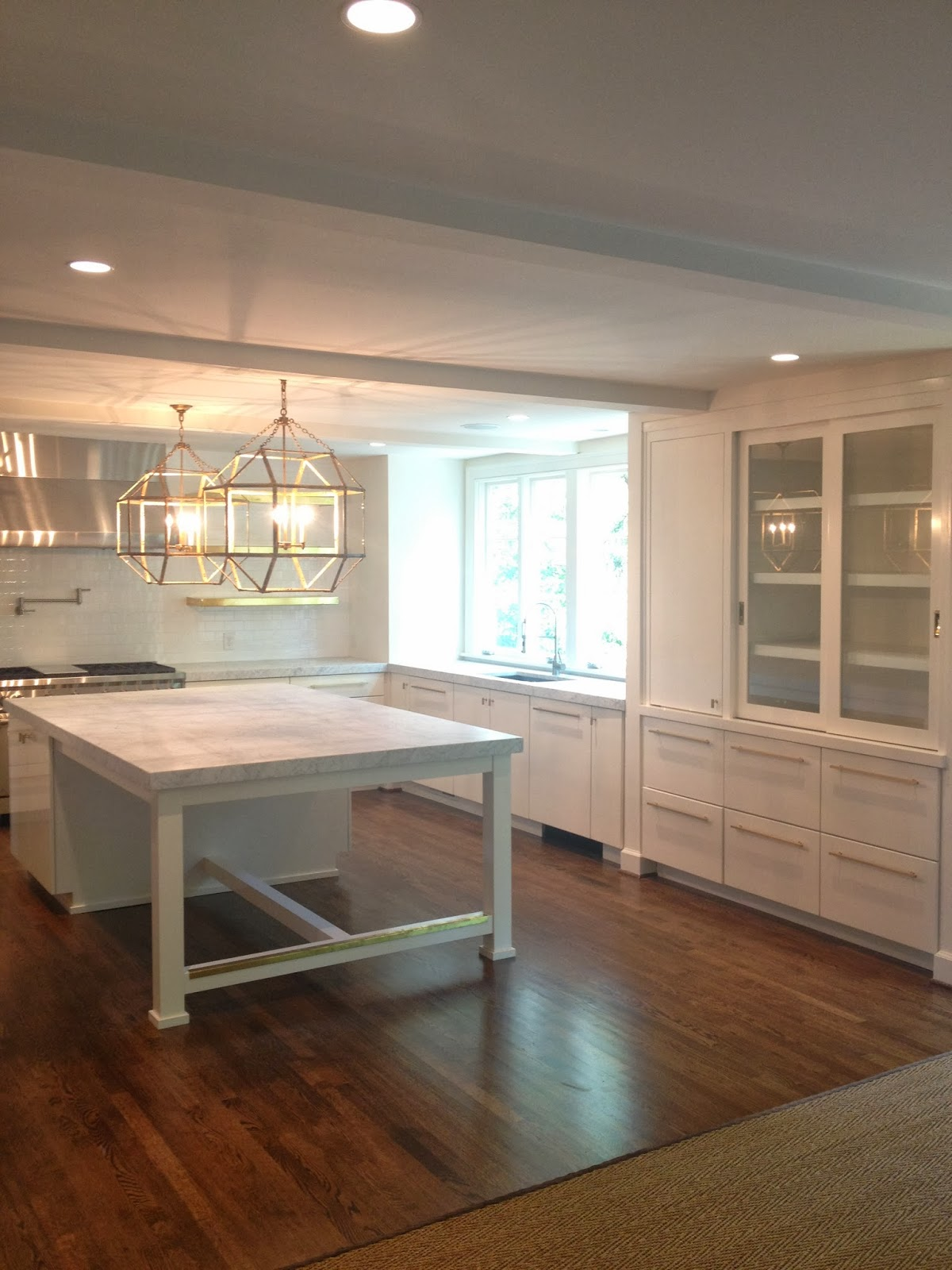 Gen 39 s favorite kitchen family room renovation for Family room renovations
