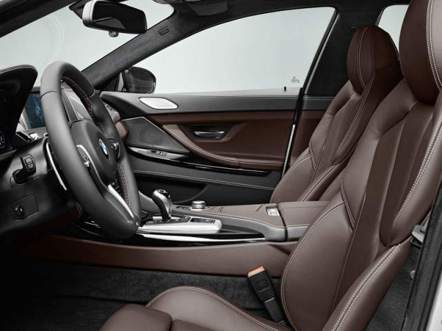 BMW M6 Gran Coupe 2014 interior