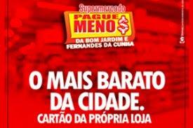 SUPERMERCADO PAGUE MENOS DA BOM JARDIM