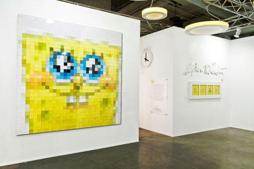 SpongeBob Square Pants pixelated