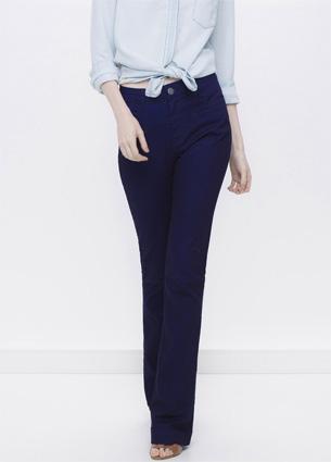 Renner coleção feminina Primavera Verão 2016 calça flare em jeans