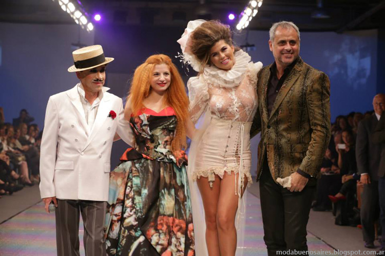 Baam 40 Argentina Fashion Week otoño invierno 2014. Verónica de la Canal otoño invierno 2014.