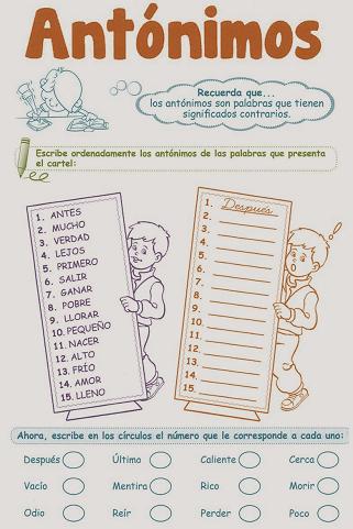 http://razonamiento-verbal1.blogspot.com/2013/12/antonimos-para-ninos-1-grado-primaria.html