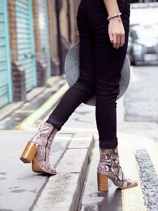 Wonderful You Style Blog Wearing Cheap Monday for Urban Outfitters Dungarees with Kurt Geiger Boots