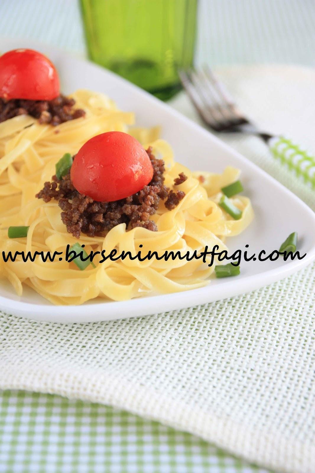 Spagetti Kuş Yuvası Tarifi – Hamur İşleri
