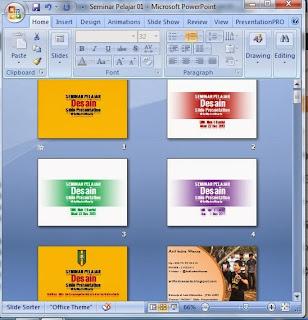 Berapa Slide Presentasi yang Anda Buat?