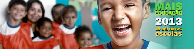 Programa Mais Educação,  escolas selecionadas para adesão em 2013