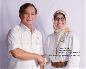 Dosen Badan Intelejen Negaral (BIN) Dr. Nurcahaya Tandang, S.IP, SH, MSi