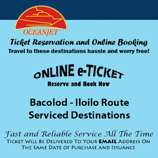 OceanJet Bacolod-Iloilo Route Ticket Reservation and Online Booking