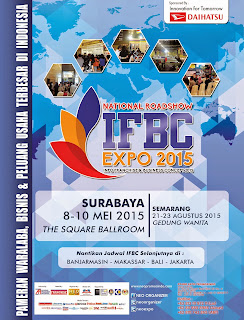THIS WEEK! 8-10 May 2015 @TheSquareBallroom ICBC Center SURABAYA National Roadshow #IFBCexpo2015