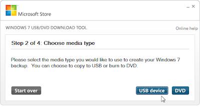 Pilih USB device