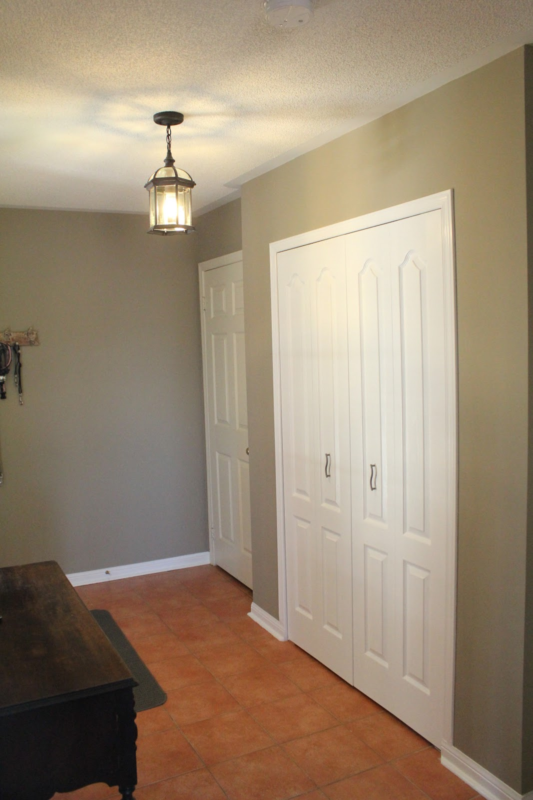Foyer Closet Sliding Doors : Turtles and tails installing bi fold doors foyer reveal