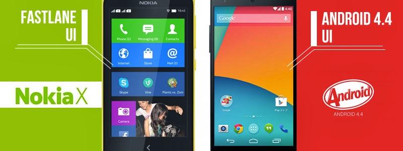 Perbedaan Android Biasa dengan Android Nokia X