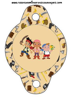 Imprimibles De Jake Y Los Piratas De Nunca Jam  S 4