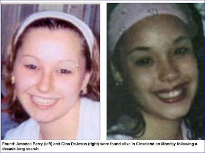 Dari kiri : Amanda Berry, Gina DeJesus