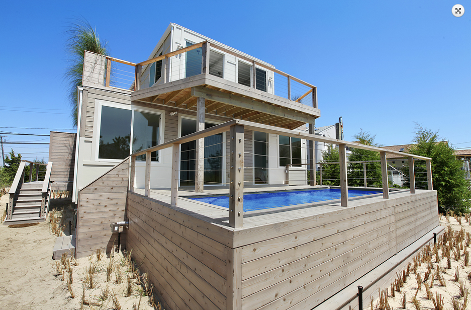 Shipping Container Homes: The Beach Box - The Hamptons, New York