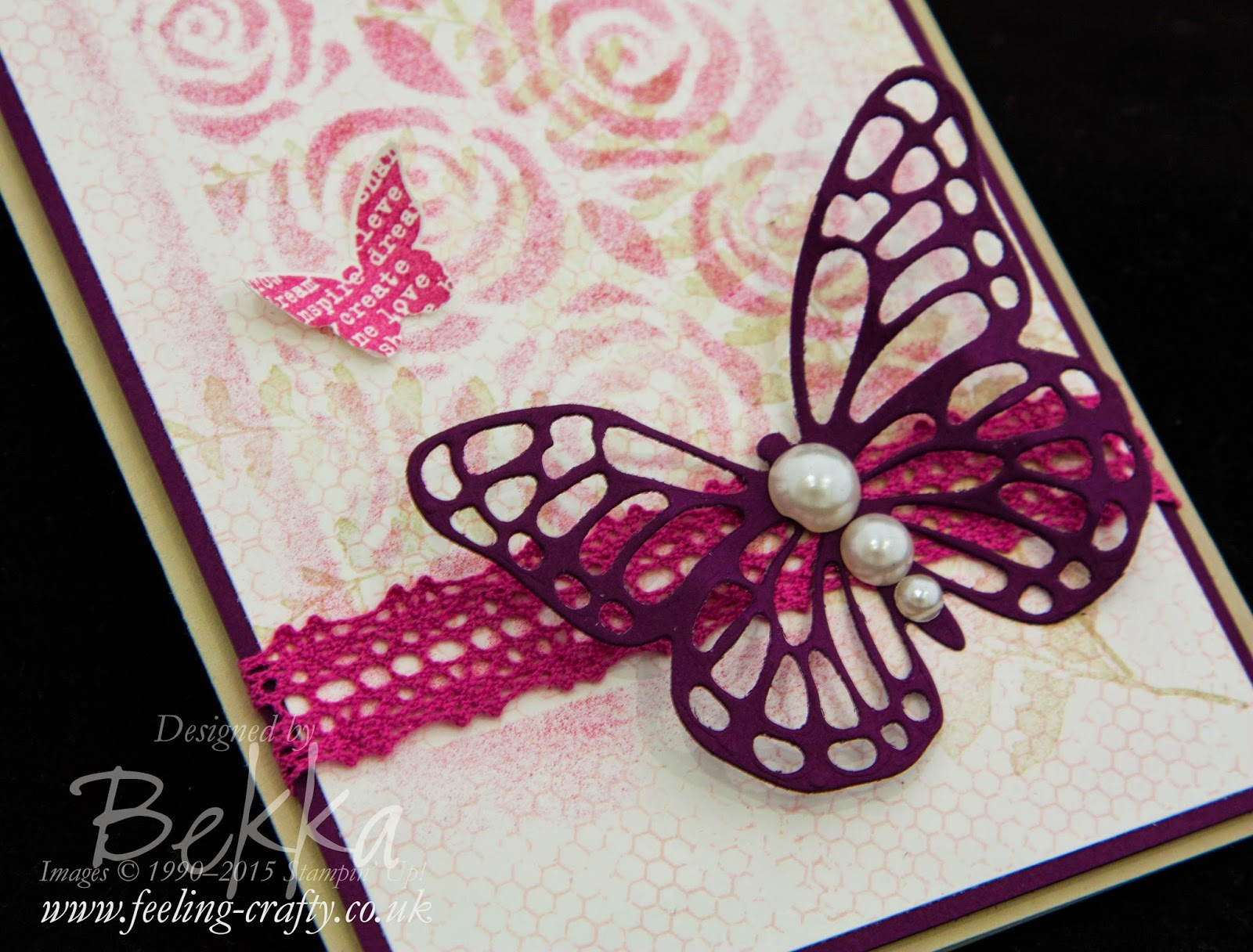 Butterfly Thinlits from Stampin' Up! UK are Available To Order Here
