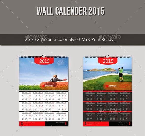 Wall Calender 2015