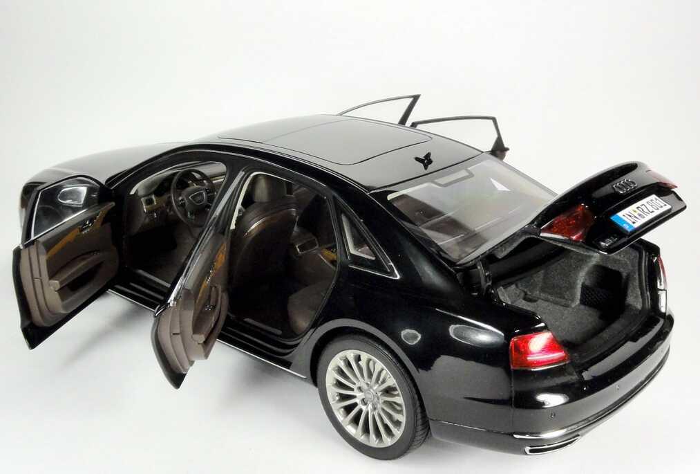 modellauto news modellauto audi a8 l konkurrent zur s. Black Bedroom Furniture Sets. Home Design Ideas