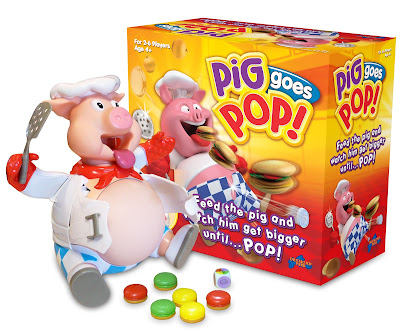 game for travelling, Pig goes pop, children games