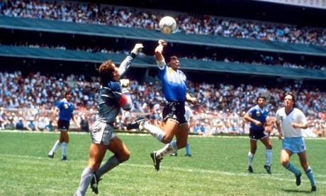 THE HAND OF GOD: Diego Maradona's 20 Years Revelation Now ...