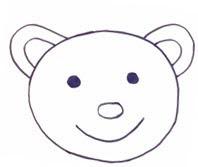 teddy bear рисунок