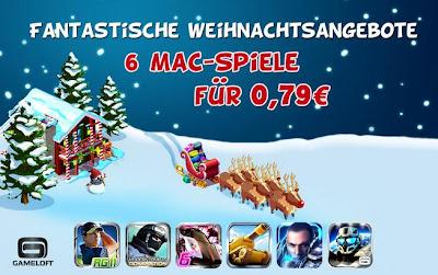 Gameloft-Aktion bei iTunes: 6 Mac-Spiele für 0,79 Euro pro Game