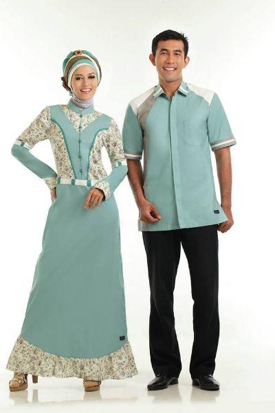 9 Model Baju Gamis Variasi Batik Terbaru