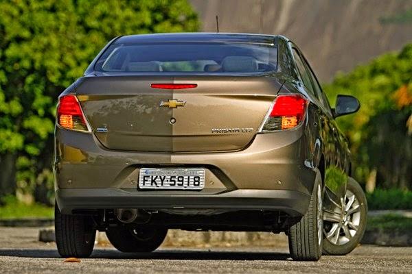 Chevrolet Prisma 2014 fotos trazeira