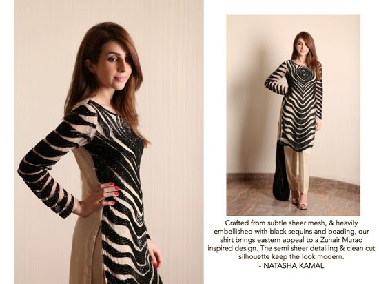 Natasha Kamal Formal Winter Collection 2014-2015 for Parties