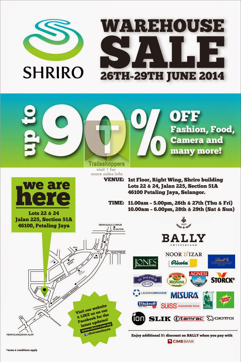 Shriro Warehouse Sale 1st Floor, Right Wing, Shriro Building