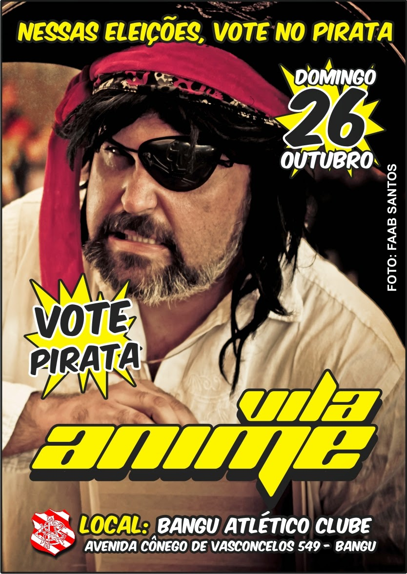 Vote no Pirata :: Vá ao Vila Anime de Halloween