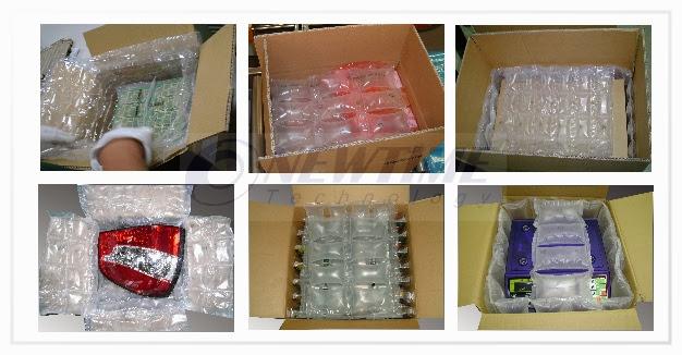 AC1000氣墊機包裝實例