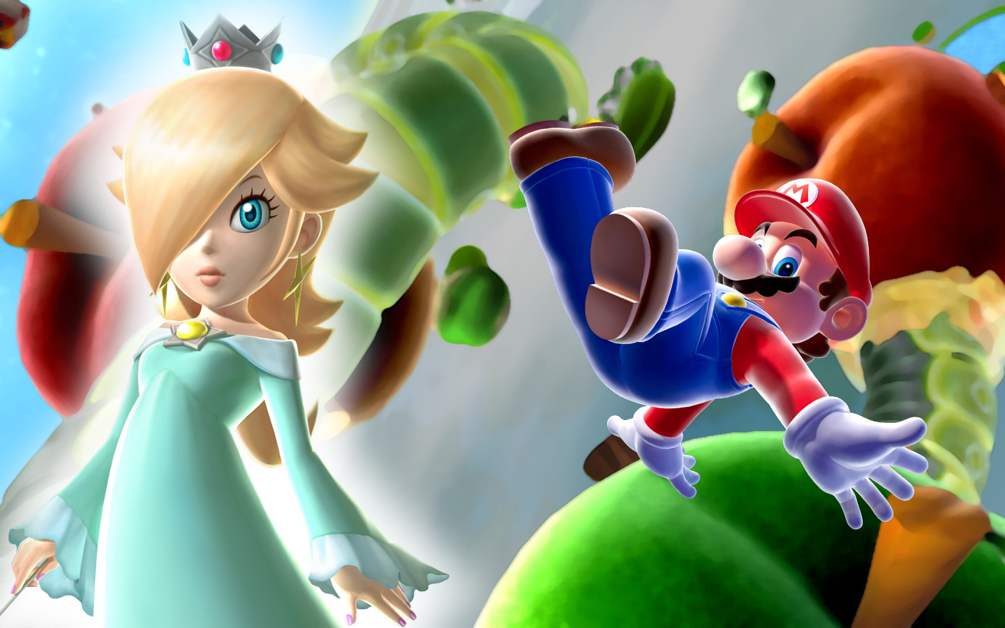 Super Mario HD & Widescreen Wallpaper 0.427316457296415