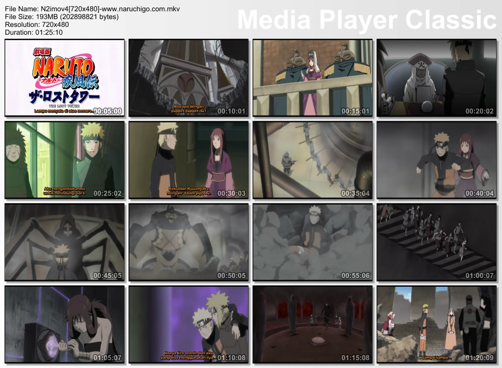 naruto shippuden lost tower. Naruto Shippuden Movie 4 : The