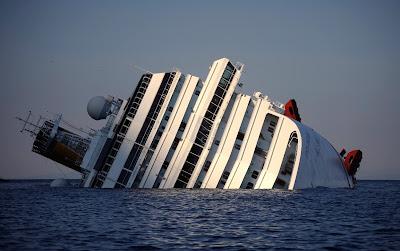 Итальянский лайнер Коста Конкордиа