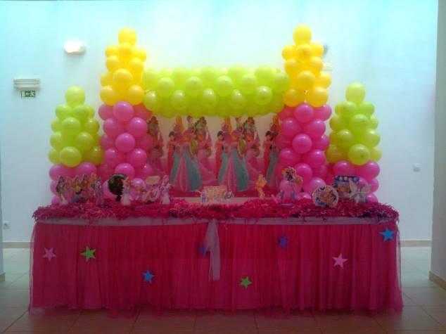 decoracao festa winx: de Festas e Organização de Eventos: Decoração Winx Batizado Bruna
