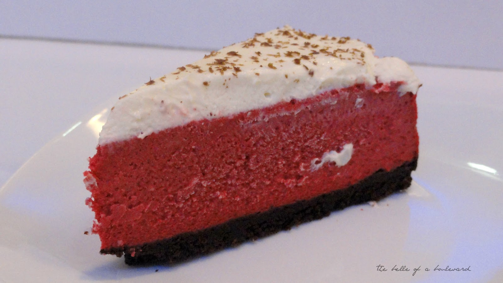 The White Hat Red Velvet Yogurt Cheesecake